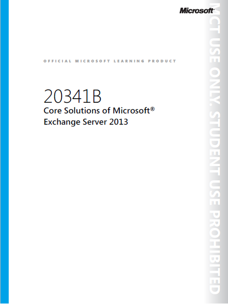 Core Solutions of Microsoft Exchange Server 2013_Image