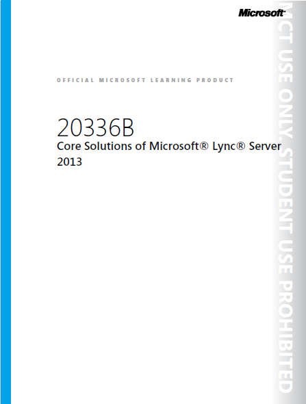 Core Solutions of Microsoft Lync Server 2013_Image